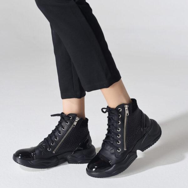 Zapatilla China negra 2