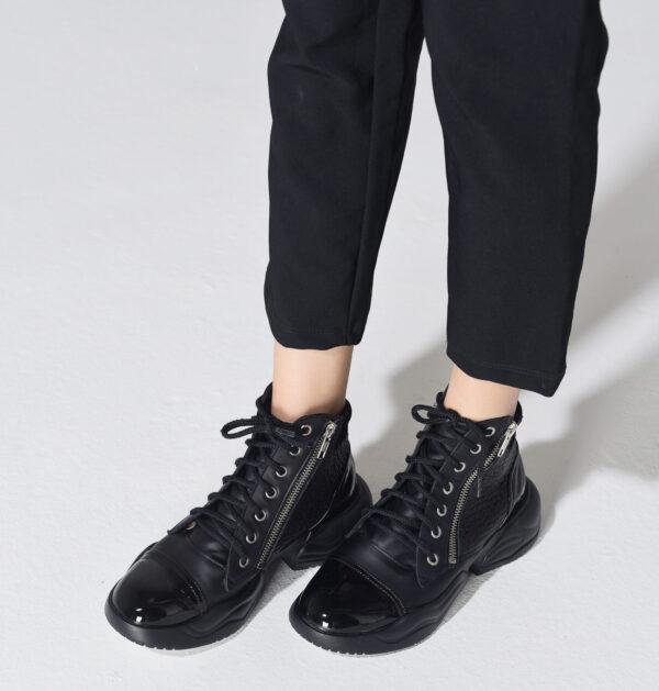 Zapatilla China negra 1